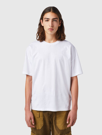 Diesel - T-KRIBBY, White - T-Shirts - Image 1