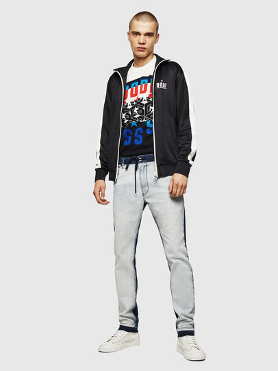 Diesel - Krooley JoggJeans 0870R, Bleu moyen - Jeans - Image 5