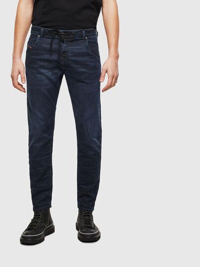 Diesel - Krooley JoggJeans 069MG, Bleu Foncé - Jeans - Image 1