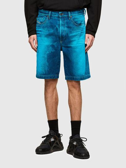 Diesel - D-MACS-SHORT-SP, Bleu - Shorts - Image 1