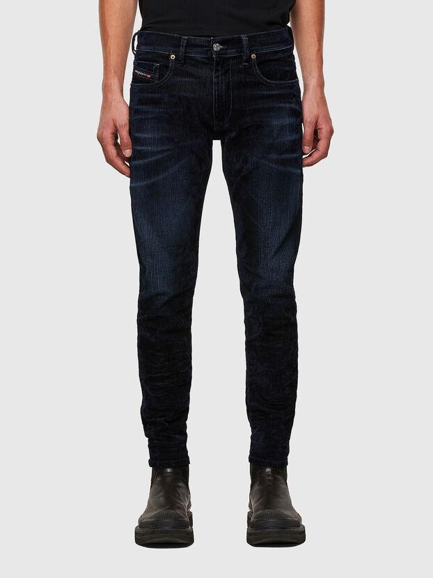 D-Strukt 0091U, Bleu Foncé - Jeans