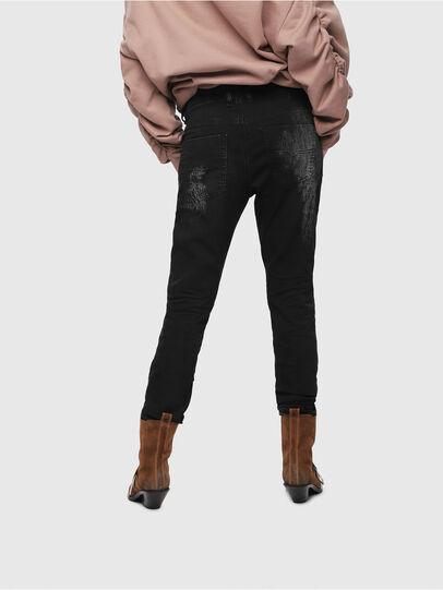 Diesel - Krailey JoggJeans 069DT, Noir/Gris foncé - Jeans - Image 2