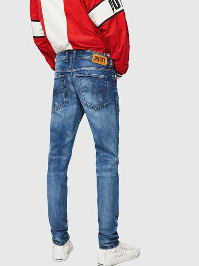 Diesel - Sleenker 069FY, Bleu moyen - Jeans - Image 2