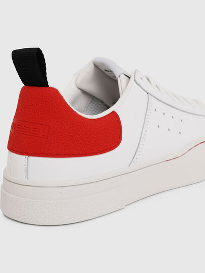 Diesel - S-CLEVER LOW, Blanc/Rouge - Baskets - Image 4