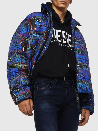 Diesel - Sleenker 083AG, Bleu Foncé - Jeans - Image 3