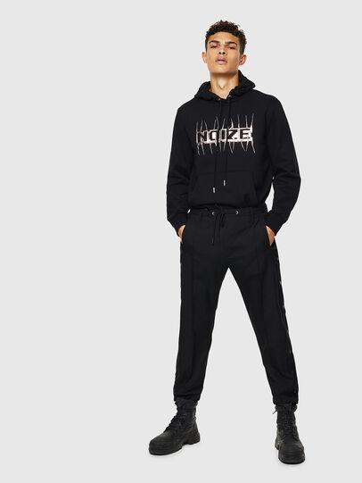 Diesel - S-GIRK-HOOD-J1, Black - Sweatshirts - Image 8