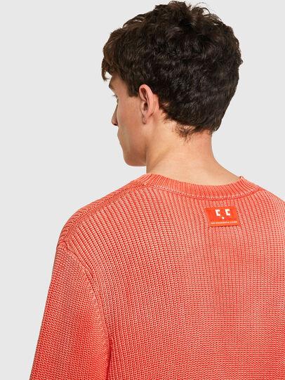 Diesel - K-KENTUCKY, Orange - Sweaters - Image 4