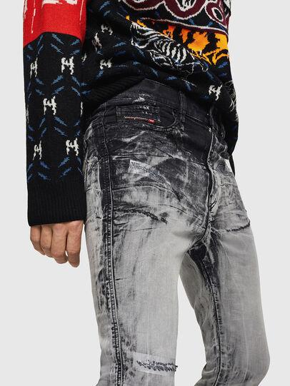 Diesel - D-Reeft JoggJeans 084AH, Noir/Gris foncé - Jeans - Image 3
