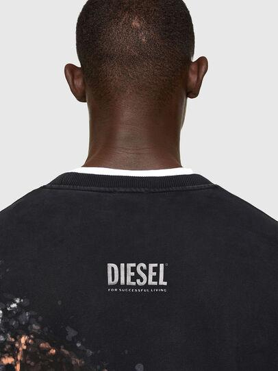 Diesel - S-MART-A92, Black - Sweatshirts - Image 4