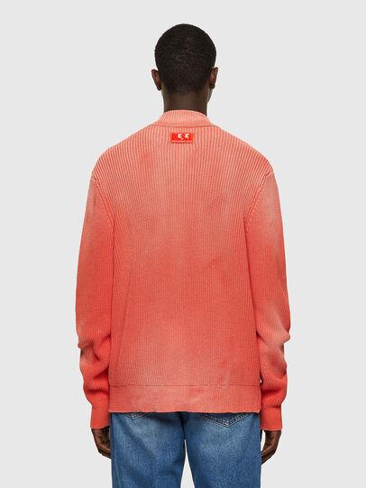 Diesel - K-KENTUCKY ZIP, Pink - Sweaters - Image 2