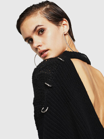 Diesel - MEBLY, Noir - Pull Maille - Image 3
