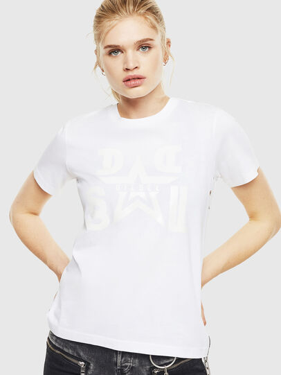 Diesel - T-SILY-WMA, Blanc - T-Shirts - Image 1