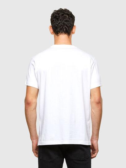 Diesel - T-DIEGOS-A1, Blanc - T-Shirts - Image 2