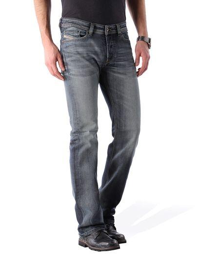 Diesel - Viker 0885K, Bleu Foncé - Jeans - Image 2
