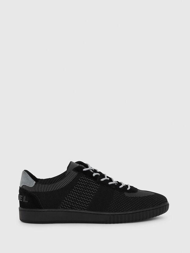 S-MILLENIUM LOW, Black/Grey - Sneakers
