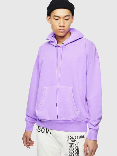 Diesel - S-ALBY-FLUO, Lilas - Pull Cotton - Image 1