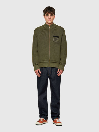 Diesel - K-MEXICO, Olive Green - Sweaters - Image 4