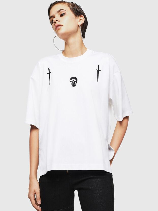 TELIX-A, Blanc - T-Shirts