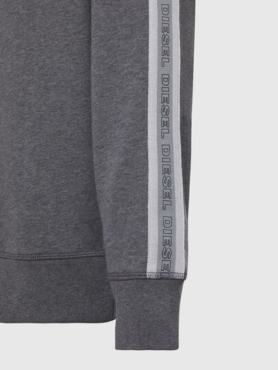 Diesel - UMLT-WILLY, Grey - Sweatshirts - Image 3