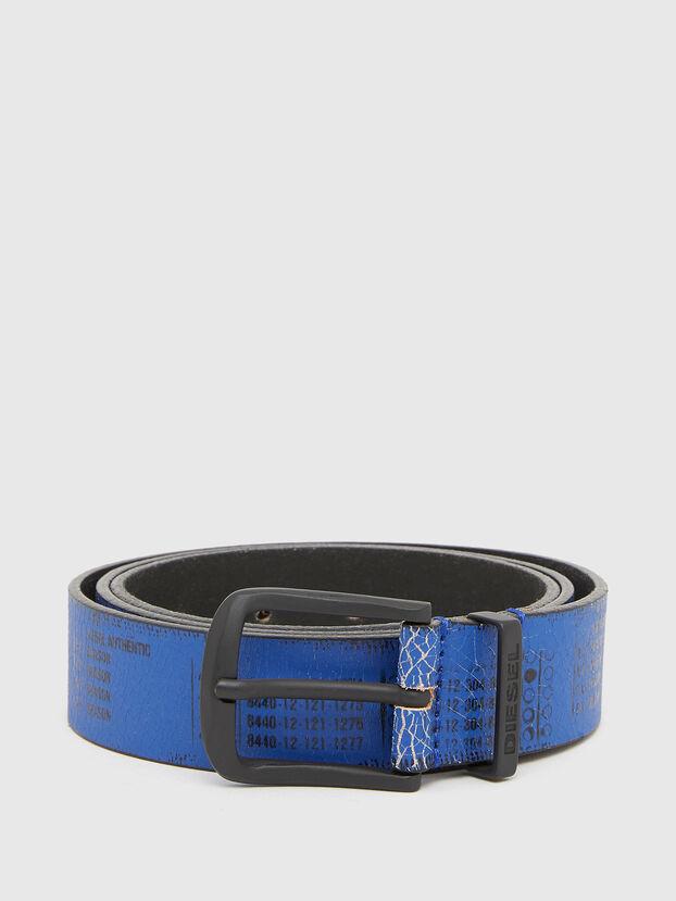 B-DERUB, Noir/Bleu - Ceintures