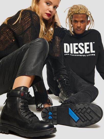 Diesel - D-THROUPER DBB W Z, Noir - Bottines - Image 5