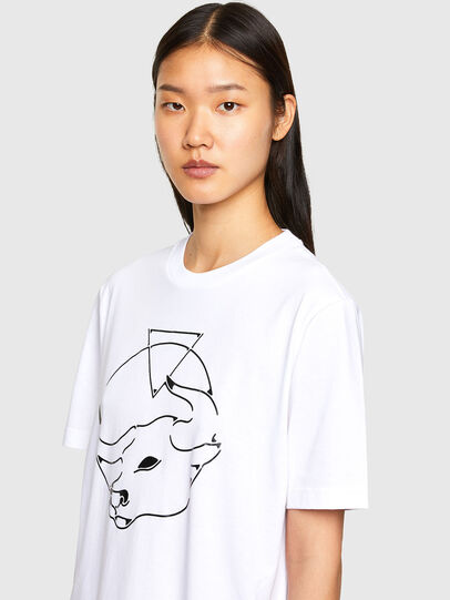 Diesel - CL-T-JUST-O, Blanc - T-Shirts - Image 6