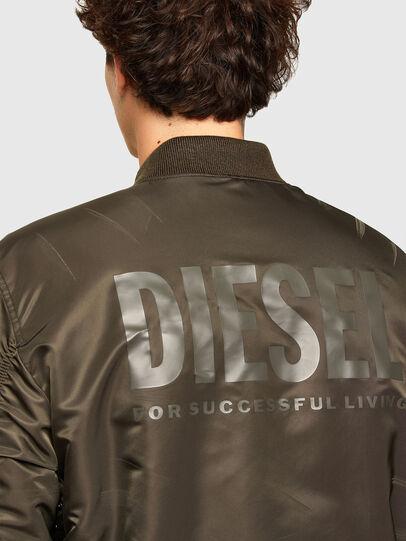 Diesel - J-ROSS-REV, Marron - Vestes - Image 4