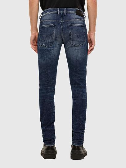 Diesel - Sleenker 009JM, Bleu Foncé - Jeans - Image 2