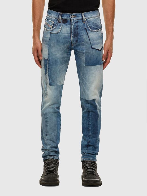 D-Strukt 009HZ, Bleu Clair - Jeans