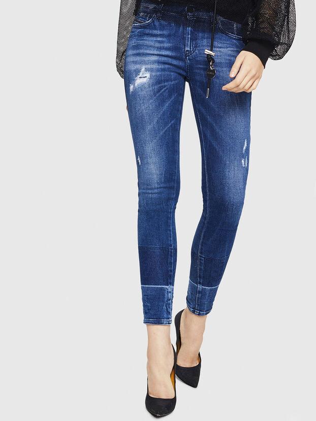 Slandy 0090K, Bleu moyen - Jeans