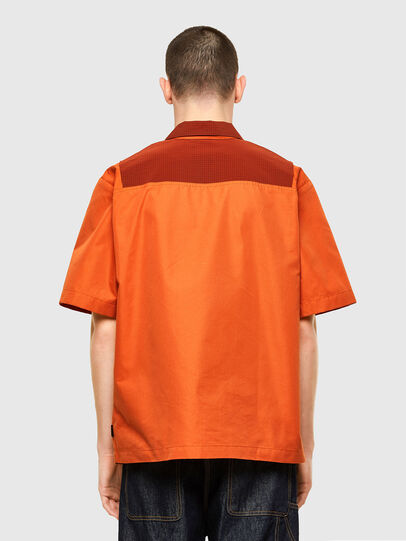 Diesel - S-GUNN, Orange - Shirts - Image 2