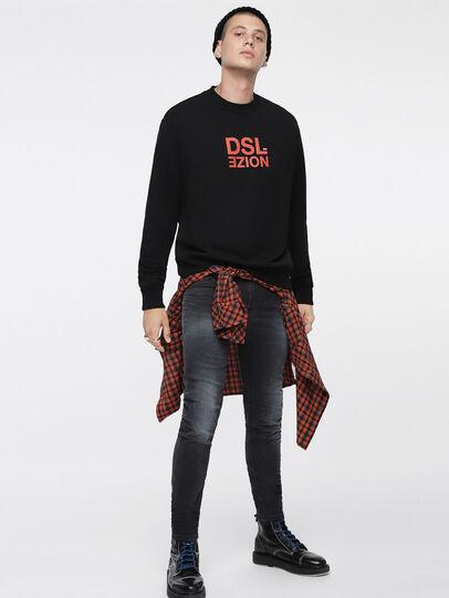 Diesel - Thommer JoggJeans 084XJ, Black/Dark Grey - Jeans - Image 4