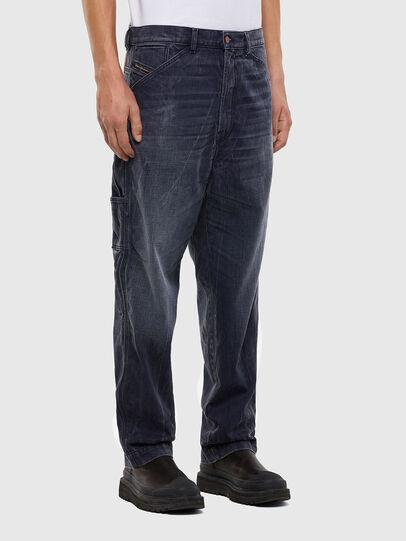 Diesel - D-Franky 009IY, Bleu Foncé - Jeans - Image 4