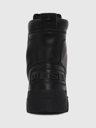 Diesel - H-RUA AM, Noir - Baskets - Image 4