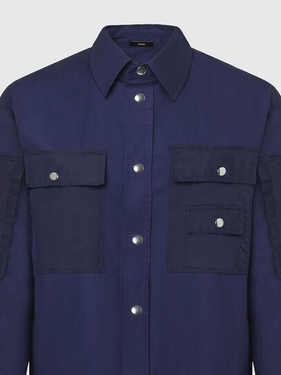 Diesel - S-AUSTIN, Bleu - Chemises - Image 3
