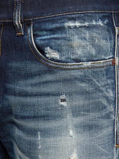 Diesel - D-Strukt 0092I, Bleu Foncé - Jeans - Image 5