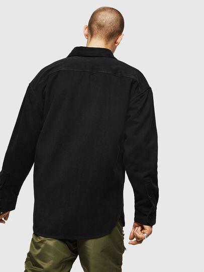 Diesel - S-LEBED, Noir - Chemises - Image 2