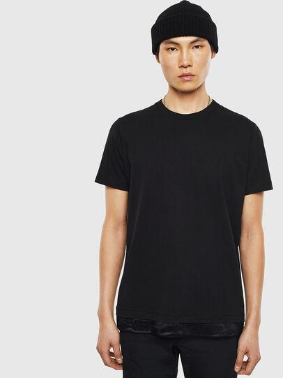 Diesel - T-TEIN, Noir - T-Shirts - Image 1