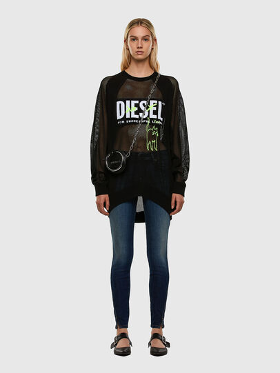 Diesel - M-PORTIA, Noir - Pull Maille - Image 6