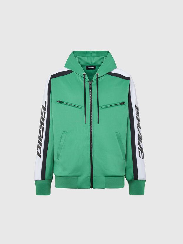 S-STEEL, Green - Sweatshirts