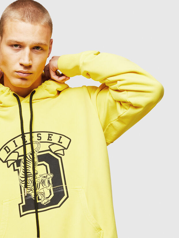 S-ALBY-B8, Yellow - Sweatshirts