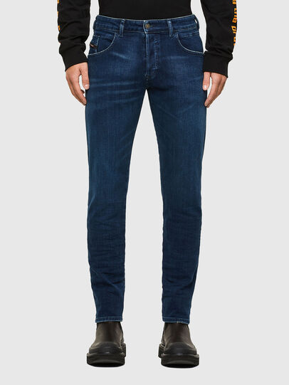 Diesel - D-Bazer 009JE, Bleu Foncé - Jeans - Image 1