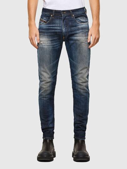 Diesel - D-Strukt 009JT, Dark Blue - Jeans - Image 1