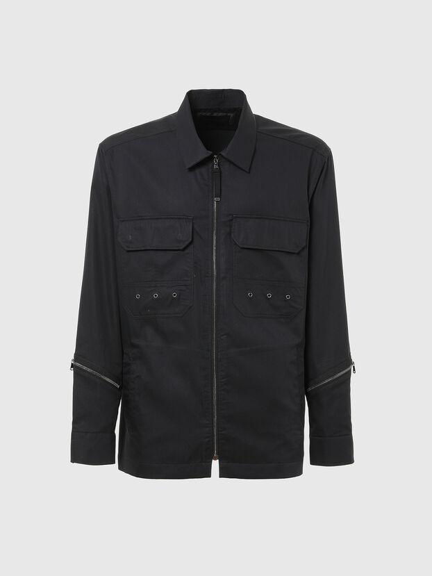 S-KULT, Noir - Chemises