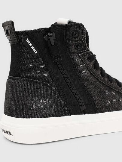 Diesel - S-ASTICO MID ZIP, Black - Sneakers - Image 6