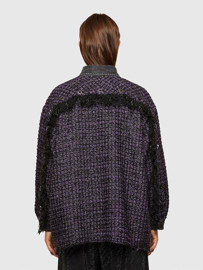 Diesel - C-HELEN, Noir/Violet - Chemises - Image 2