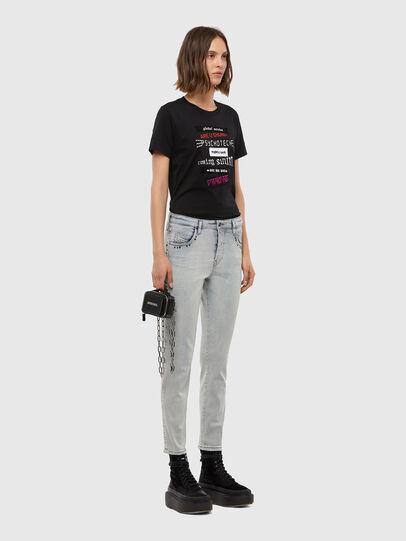 Diesel - Babhila 009JL, Bleu Clair - Jeans - Image 5