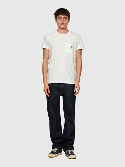 Diesel - T-WORKY-MOHI, Blanc - T-Shirts - Image 4