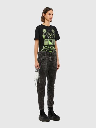 Diesel - FAYZA JoggJeans® 009FZ, Noir/Gris foncé - Jeans - Image 6