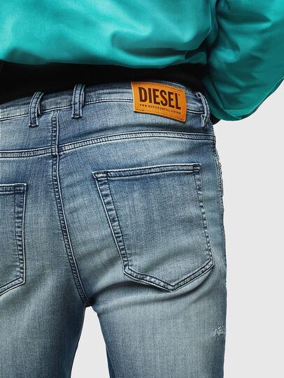 Diesel - D-Vider JoggJeans 069JZ, Light Blue - Jeans - Image 5